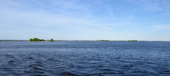 A Day Canoe Trip in Voyageurs National Park