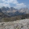 Views from Jackass Pass of Cirque of Towers, Wind River Range, Wyoming
