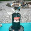 The Coleman Single Burner Propane Stove