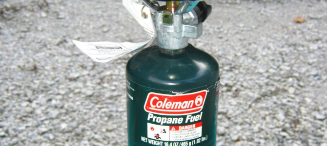 Gear Review – Coleman Single Burner Propane Stove