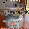 5 easy camping meals that can be made on a backpacking stove