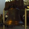 The uncracked side of the Liberty Bell, Independence National Historic Park, Pennsylvania