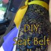 How to make your own seat belt pillow for sleeping while traveling by car