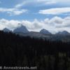 A closer view of the Tetons from the Andy Stone Trail, Jedediah Smith Wilderness / Grand Teton National Park, Wyoming