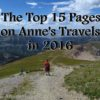 The Top 15 Pages on Anne's Travels in 2016 - Hiking down Table Mountain, Jedediah Smith Wilderness, Wyoming