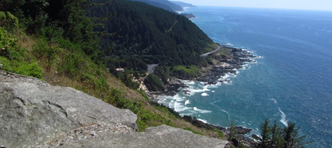 Incredible Coastal Views from Cape Perpetua's Stone Shelter