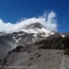 Mt. Hood from near Viewpoint #! on Gnarl Ridge in Mount Hood National Forest, Oregon