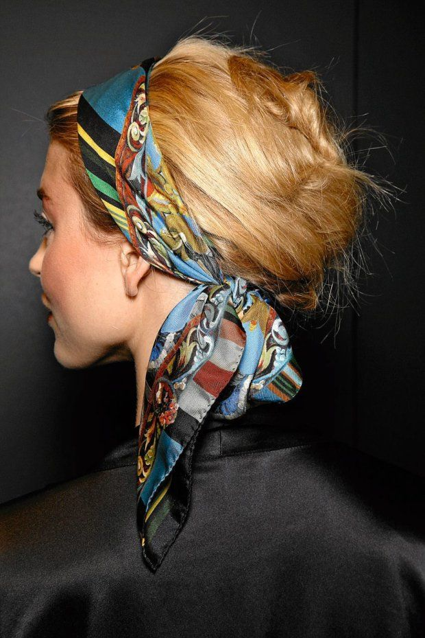 Kerchief Hairstyle