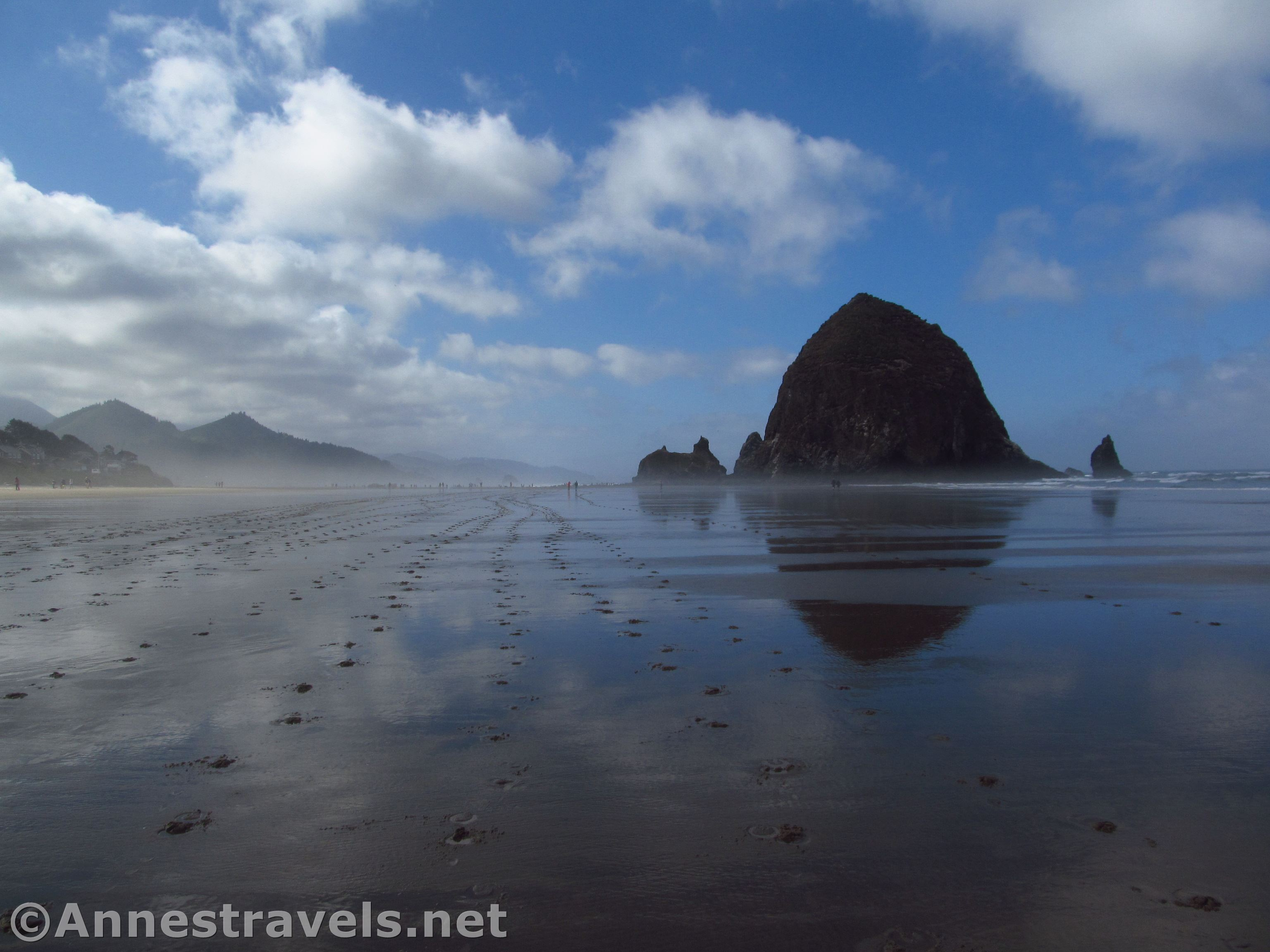 Hiking Cannon Beach To Haystack Rock Anne S Travels