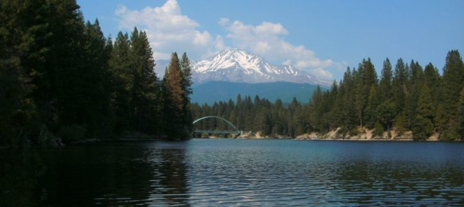 Beautiful Swimming Hole at Lake Siskiyou