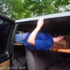 How to build a bunkbed for your van that goes over top of the bench seats