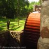 Waterwheel at the Cooper Mill in Chester, New Jersey