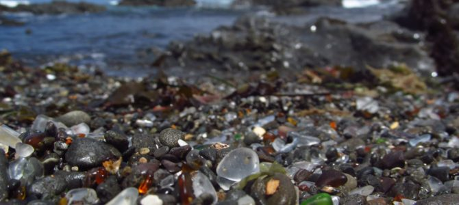 Visiting Sea Glass at Glass Beach