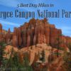 5 Best Day Hikes in Bryce Canyon National Park, Utah. Spires along the Fairyland Trail.