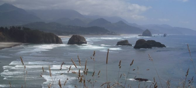 Views of Cannon Beach at Ecola State Park