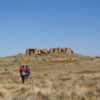 Approaching New Alto along the Pueblo Alto Loop in Chaco Culture National Historical Park, New Mexico