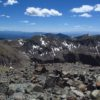 Views of Cirques and peaks from Wheeler Peak, Carson National Forest, New Mexico