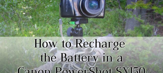 How to Fix the Internal Battery on a Canon PowerShot SX150 Camera