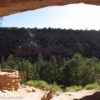 The reconstructed kiva in Alcove House, Bandelier National Monument, New Mexico