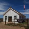 The Mount Trumbull Schoolhouse in Grand Canyon Parashant National Monument, Arizona