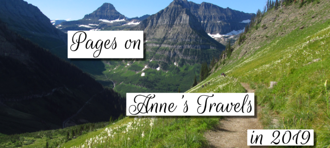 The Top 20 Pages on Anne's Travels in 2019!