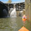 Kayaks in Lock 33 on the Erie Canal, Pittsford, New Yrk