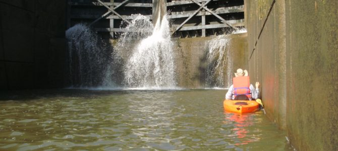 Kayaking the Erie Canal – Pittsford to I-390