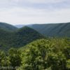 Views from the Raven's Horn Viewpoint on the Golden Eagle Trail, Tiadaghton State Park, Pennsylvania
