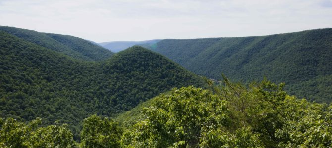 Hiking PA's Golden Eagle Trail