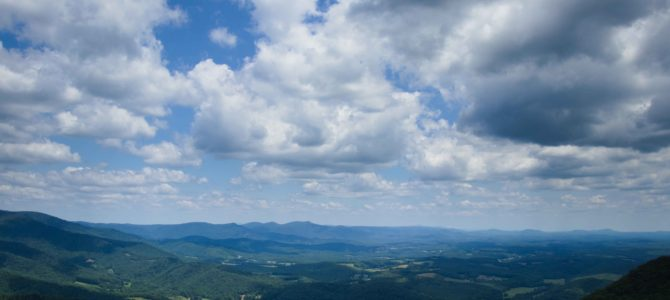 Fantastic  Blue Ridge Views from Lover's Leap